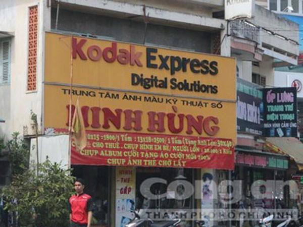 Tiệm chụp hình Minh Hùng gần Chùa Bà Bình Dương