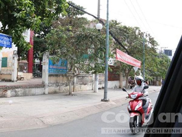 Lô đất tranh chấp giữa vợ chồng anh Phú và bà Danh nằm trên đường Nguyễn Du, TP. Thủ Dầu Một