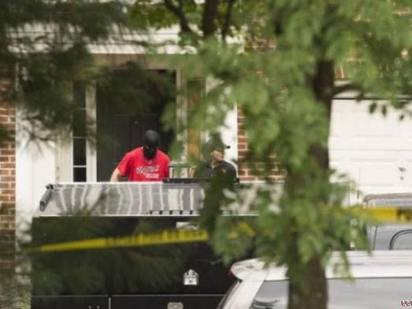 Cảnh sát lục soát nhà của đối tượng Nicolas Young
