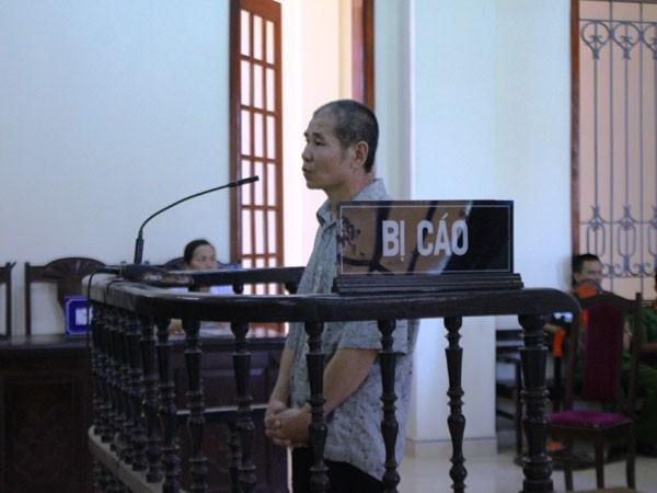 Lương Trần Chu trong phiên xét xử