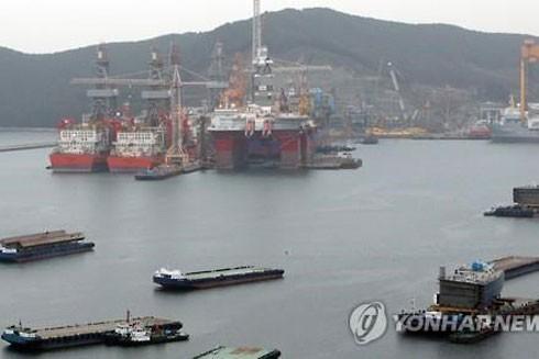 Một cảng biển ở Nam Gyeongsang