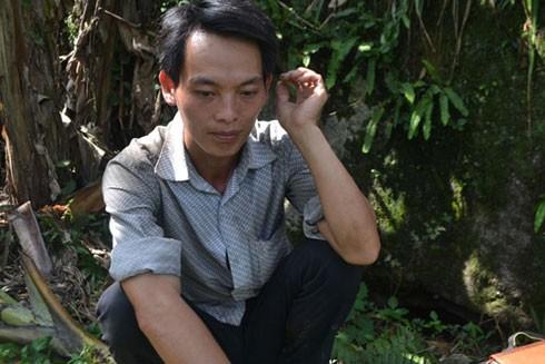 Anh Triệu Mềnh Chán (bố của 3 nạn nhân)