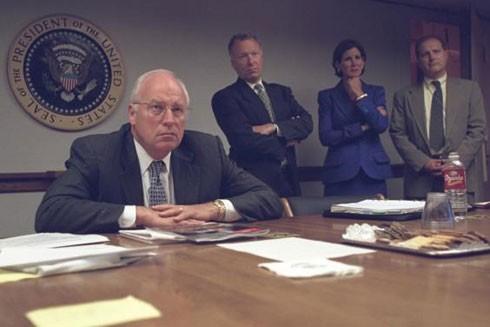 Vẻ ảm đạm của Phó Tổng thống và các cố vấn cấp cao khi nghe các báo cáo về vụ khủng bố