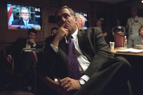 Những bức ảnh chưa công bố từ Nhà Trắng sau vụ khủng bố 11-9 ảnh 14