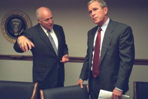 Những bức ảnh chưa công bố từ Nhà Trắng sau vụ khủng bố 11-9 ảnh 17