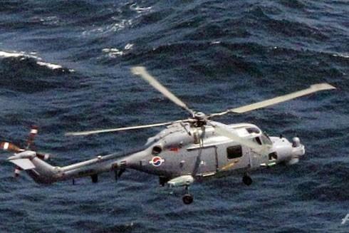Trực thăng săn ngầm Lynx của Hải quân Hàn Quốc