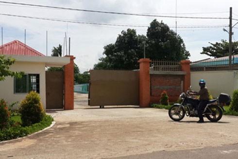 Cơ sở cai nghiện ma túy tỉnh Đồng Nai (xã Xuân Phú, huyện Xuân Lộc), nơi các đối tượng cai nghiện bỏ trốn.