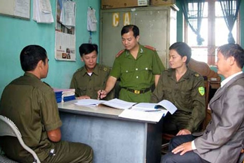 Đội phó, phó công an phường có cấp bậc hàm cao nhất là trung tá