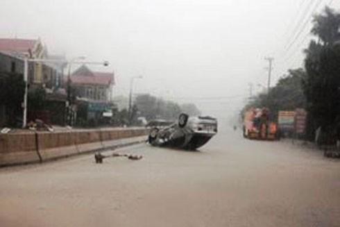 Nhiều nơi ở Quảng Bình ngập trong nước, 5 người chết và mất tích ảnh 2