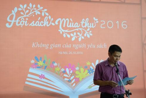 Ông Trần Việt Anh, Phó giám đốc Nhà xuất bản Phụ nữ