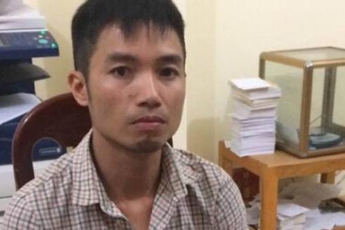 Đối tượng Nguyễn Văn Khánh tại cơ quan điều tra