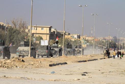 Quân đội Chính phủ Iraq trong cuộc chiến chống Is tại Mosul, Iraq ngày 10-12