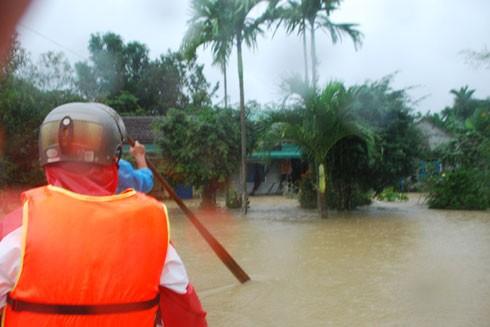 Trường học xã Sơn Nham bị sập hoàn toàn