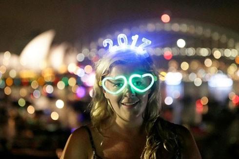 Một cô gái Anh đến Australia đón năm mới