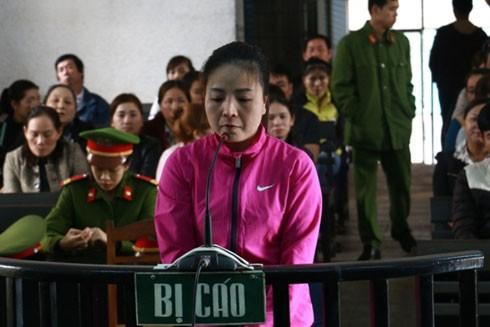 Bị cáo Nguyên tại phiên tòa
