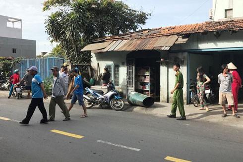 Chiếc thùng phuy phát nổ gây ra vụ tai nạn