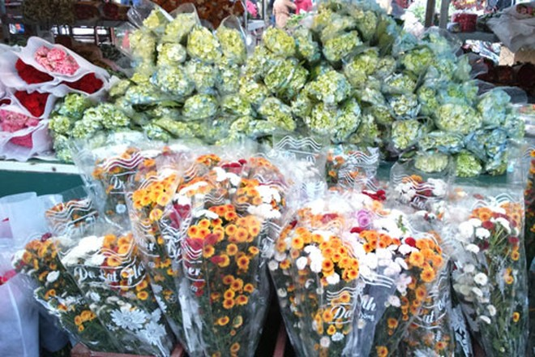 Hà Nội: Chợ hoa ngày cuối năm