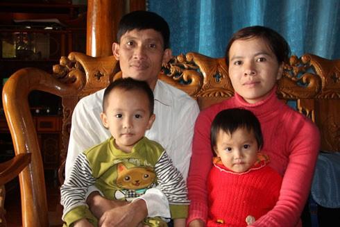 Mái ấm gia đình của anh Sinh sau 7 năm hoàn lương
