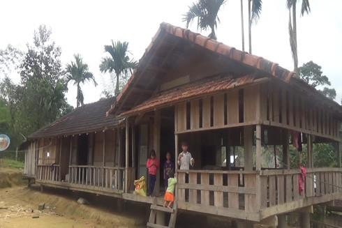 Ngôi nhà của của gia đình anh Phạm Văn Thé