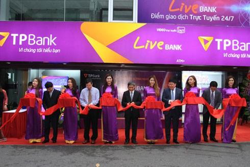 TPBank ra mắt LiveBank tại Hà Nội