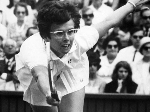 Huyền thoại Billie Jean King trong giải vô địch Wimbledon 1967
