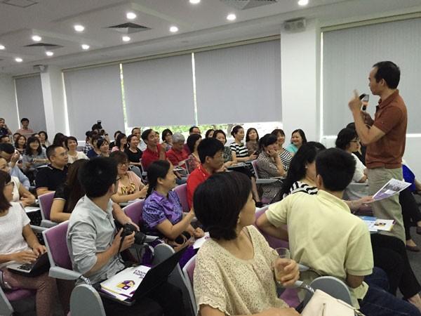 Hội thảo thu hút rất đông người tham dự
