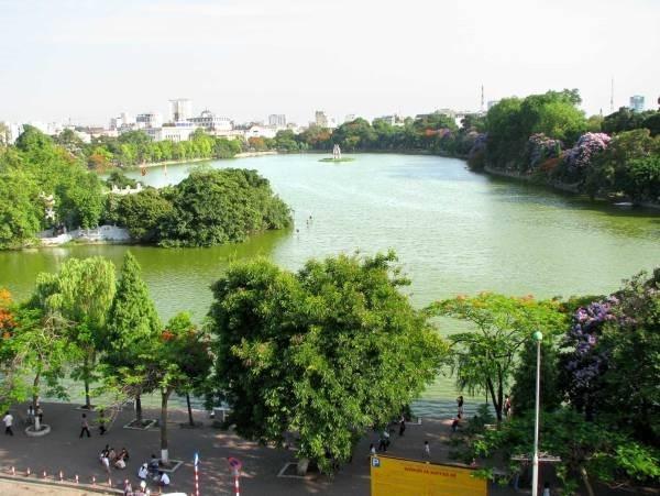 Hồ Hoàn Kiếm sẽ được nạo vét và hoàn thành trước Tết Nguyên đán 2018