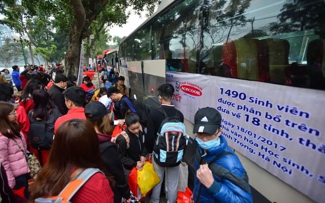 Trung ương Hội sẽ tặng 1.000 vé xe miễn phí cho sinh viên có hoàn cảnh khó khăn từ Hà Nội về các tỉnh khu vực miền Bắc