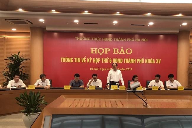 Phó Chủ tịch Thường trực HĐND TP Nguyễn Ngọc Tuấn cho biết, kỳ họp thứ 6 HĐND TP sẽ dành 1 ngày để chất vấn và trả lời chất vấn