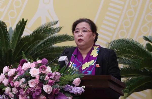 Chủ tịch HĐND TP Hà Nội Nguyễn Thị Bích Ngọc khẳng định công tác chuẩn bị cho việc lấy phiếu tín nhiệm được thực hiện nghiêm túc, đầy đủ