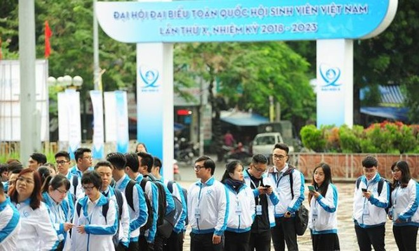 693 đại biểu quét mã vạch tham dự Đại hội Sinh viên Việt Nam lần thứ X