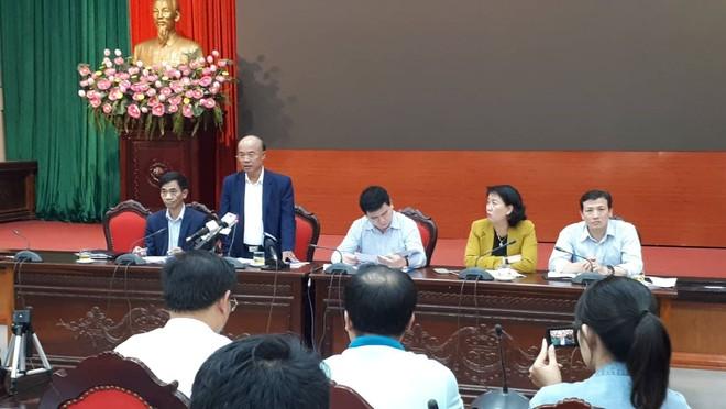 Phó Giám đốc Sở NN&PTNT Nguyễn Huy Đăng thông tin tại hội nghị