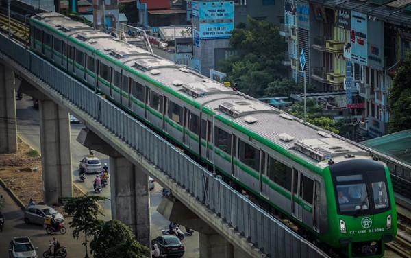 Đường sắt Cát Linh - Hà Đông sẽ là tuyến đường sắt đô thị đầu tiên của cả nước đi vào khai thác thương mại