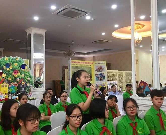 Trẻ em sẽ có cơ hội gửi các thông điệp, kiến nghị liên quan đến các vấn đề bảo vệ trẻ em