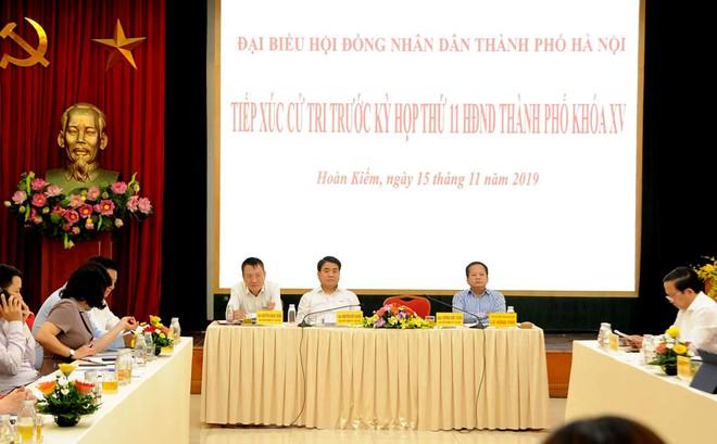 Chủ tịch UBND TP Hà Nội: Không có lợi ích nhóm trong xây dựng nhà máy nước sạch sông Đuống