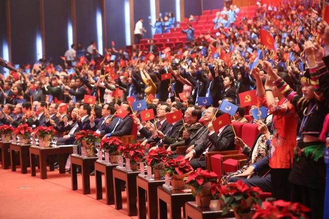 Toàn cảnh đại hội đại biểu toàn quốc Hội Liên hiệp Thanh niên Việt Nam