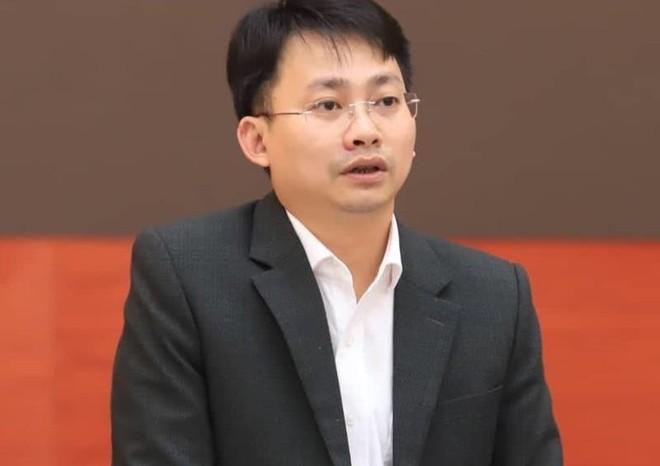 Phó Giám đốc Sở Du lịch Hà Nội Trần Trung Hiếu thông tin tại hội nghị