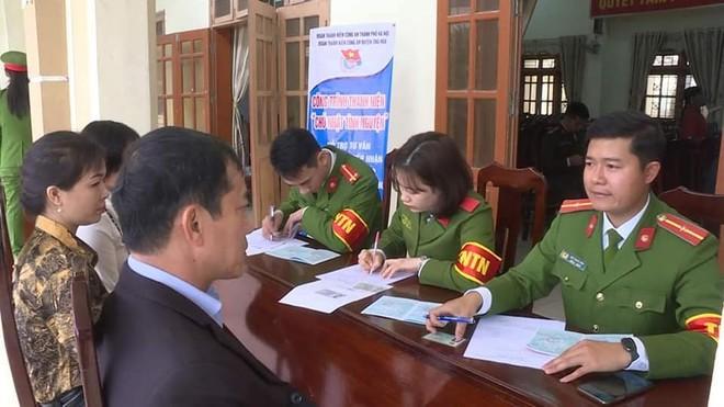 Tuổi trẻ Hà Đông tổ chức phục vụ cấp căn cước công dân