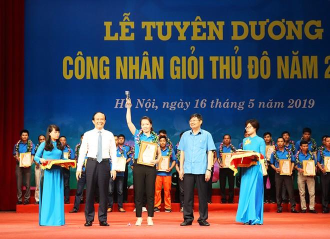 Hà Nội sẽ tuyên dương 100 công nhân giỏi năm 2020