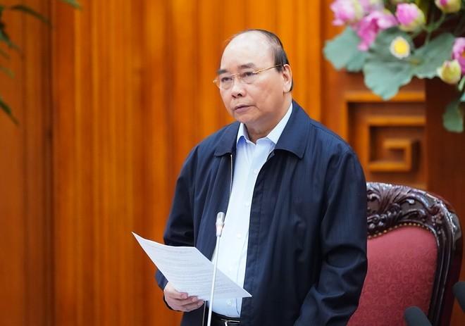 Thủ tướng Nguyễn Xuân Phúc yêu cầu các cấp, ngành triển khai quyết liệt các biện pháp phòng chống dịch Covid-19