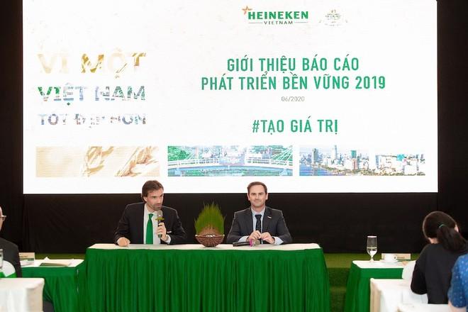 Heineken Việt Nam vừa công bố báo cáo phát triển bền vững thường niên lần thứ 6