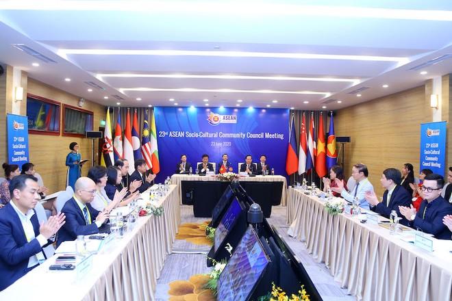 Hội nghị Hội đồng Cộng đồng Văn hóa – Xã hội ASEAN (ASCC) lần thứ 23 được tổ chức theo hình thức trực tuyến