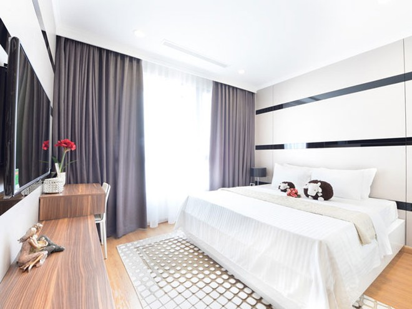 Phòng ngủ ấm cúng và sang trọng
