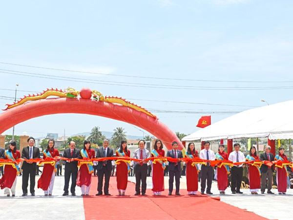Lễ cắt băng khánh thành công trình nâng cấp Nghĩa trang liệt sỹ Tp Quy Nhơn
