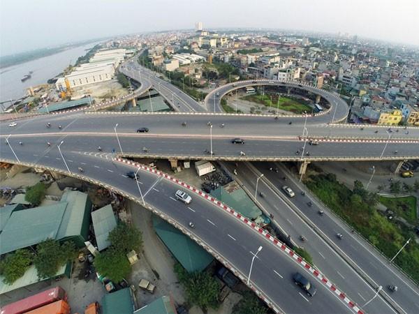 Khu vưc Vĩnh Tuy - Mai Động đang là một trong những điểm nóng về giao thông của TP Hà Nội