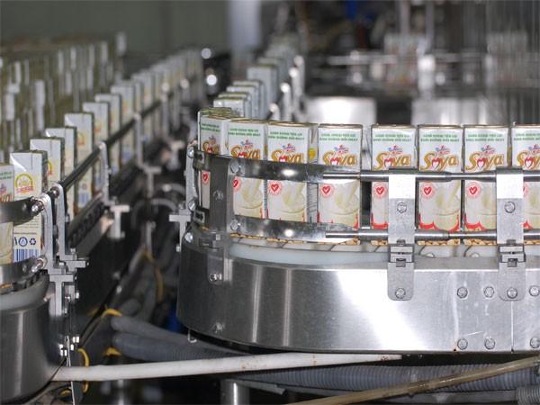 Dây truyền sản xuất sữa đậu nành hộp giấy