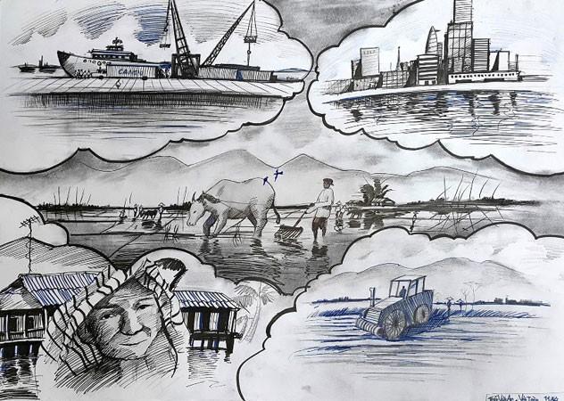 Chống bán phá giá qua… tranh vẽ trẻ thơ ảnh 6