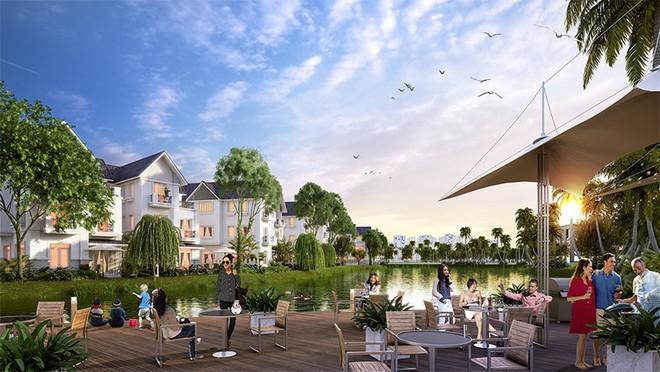 Phối cảnh toàn cảnh Khu đô thị sinh thái Vinhomes Riverside