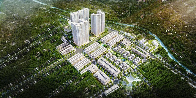 """""""Sống 'xanh' và cân bằng là xu hướng phát triển tất yếu của thế giới mà Việt Nam đang hướng tới. Với Vinhomes Gardenia, chúng tôi mong muốn tiên phong mang đến cho khách hàng phong cách sống mới: trong lành và cân bằng từ thiết kế, quy hoạch, thẩm mỹ, cộng đồng đến hệ thống dịch vụ tiện ích đồng bộ. Chúng tôi mong muốn Vinhomes Gardenia sẽ trở thành Thành phố ban mai - Nơi khơi nguồn hạnh phúc""""./."""