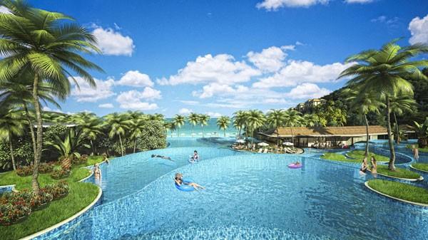 Premier Village Phu Quoc bể bơi